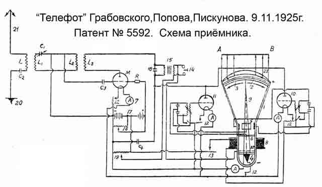 Схема передатчика · Схема