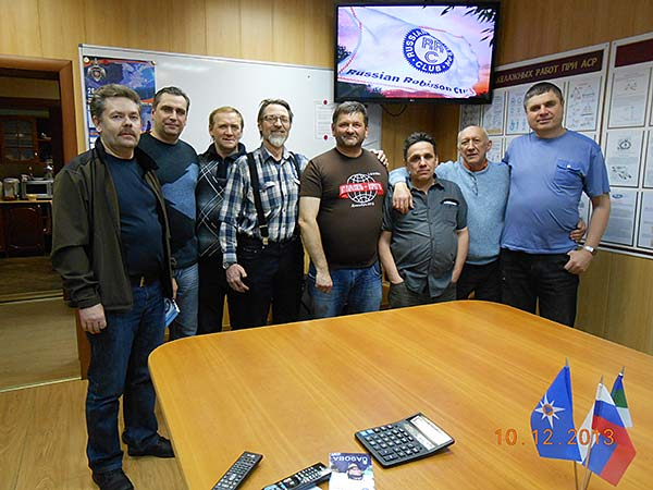 Общая встреча радиолюбителей в Воркутинском ПСО