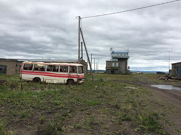 Пограничная застава пос. Усть-Хайрюзово.