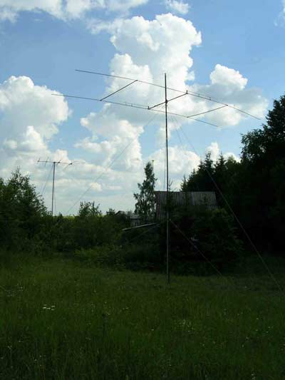 HB9CV на 14 МГц.