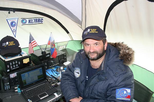 В радиоэкспедиции на Аляске
