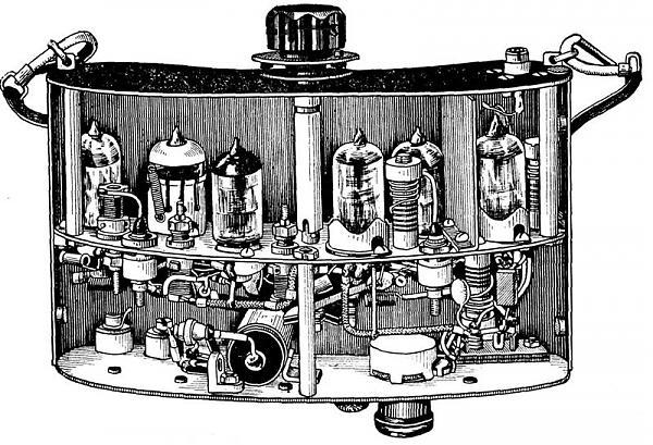 Приемник на 144 МГц, 60-е гг.