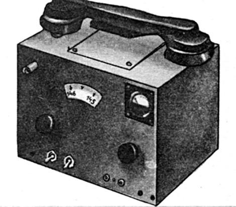 Передатчик на 144 МГц, 60-е гг.