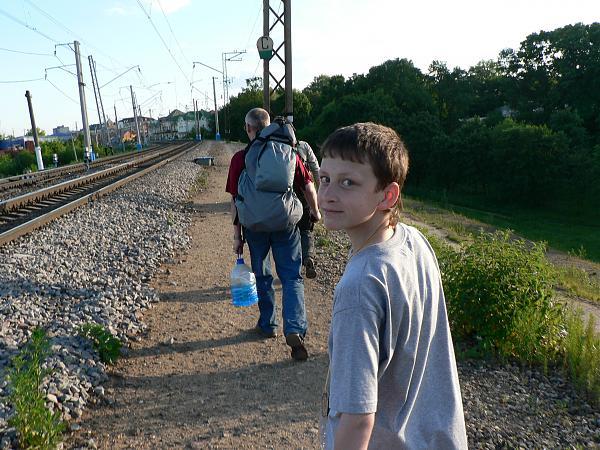 Пешком к вокзалу