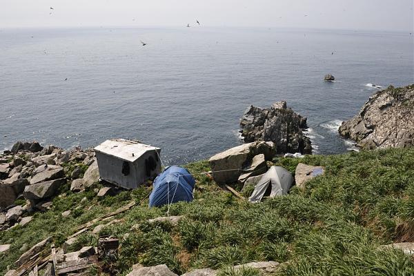 Вид из базового лагеря