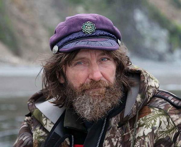 Федор Конюхов в экспедиции на Шантарах
