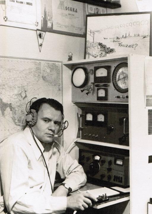 Работа на личной радиостанции UW3HO (70-е годы)
