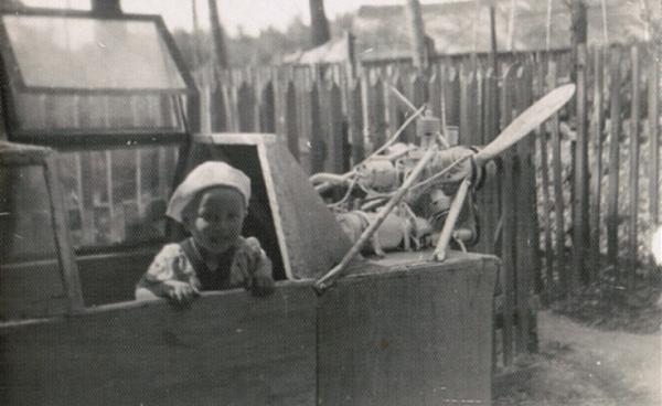 Самодельные аэросани (1960 год)