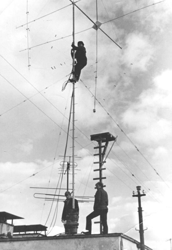 Антенны UW3HO Москва (70-е годы)
