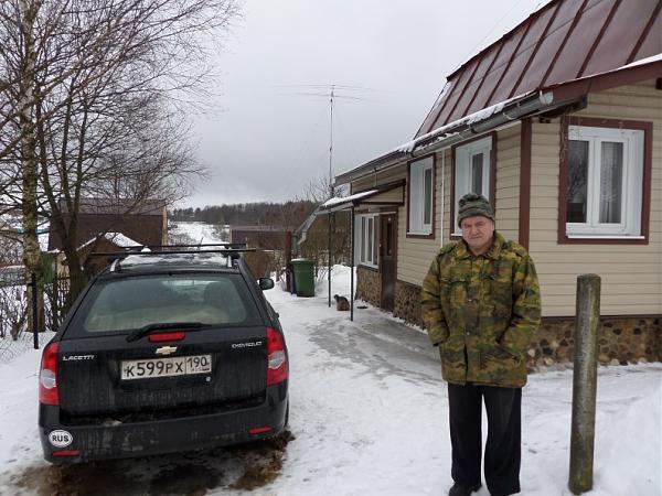 Встреча гостей в Старой Хотче (2015)