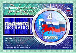 """Результаты дня активности РЦРК """"Планета DIGIRADIO -2015"""""""