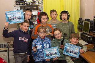 Юные контестмены в RUS-WW-PSK