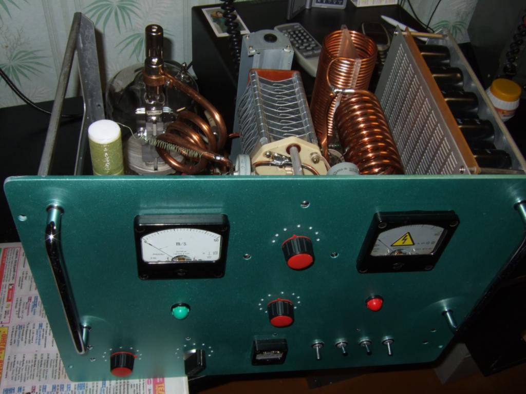 Усилитель на лампе ГУ-81М с общим катодом.