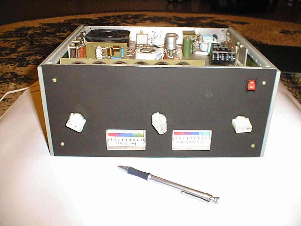 Бестрансформаторный усилитель мощности на ГУ74Б