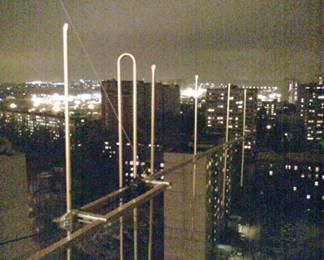 Двухэлементная антенна Яги 144 mhz - балконный вариант.