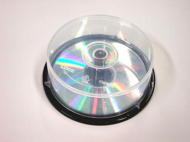 Берём обычный CD - шпиндель на 25 CD.