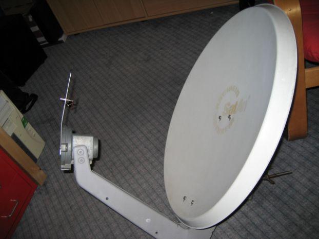 Спутниковые тарелки с Bi-Quad`ом: