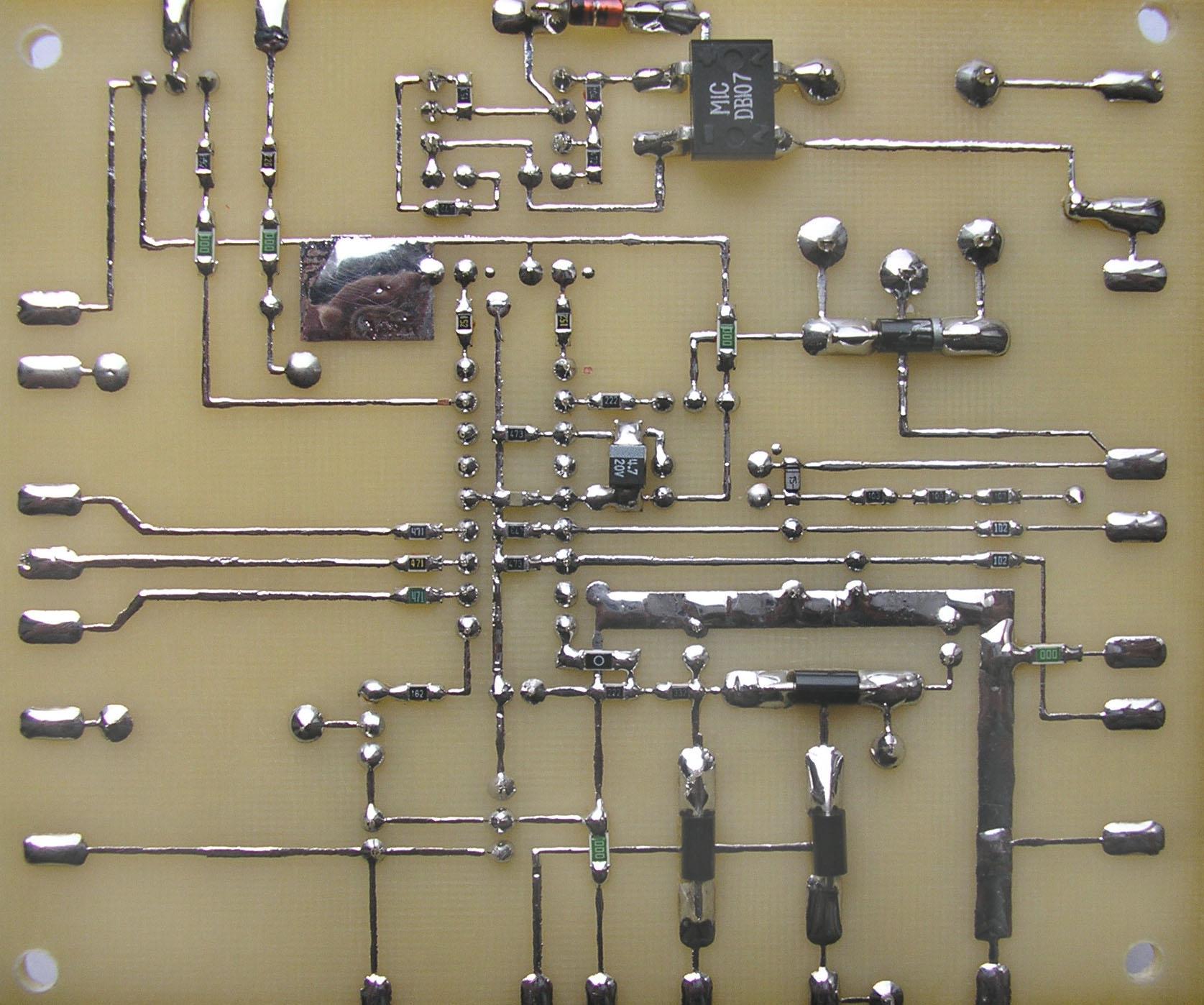 Работой всего устройства управляет микроконтроллер.  КУПИТЬ ПРОЗВОНКУ СО ЗВУКОВЫМ СИГНАЛОМБезопасностьСхемыKail.