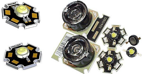 светодиоды различных производителей