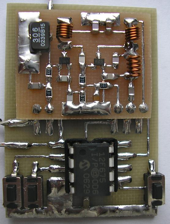 """Радиоуправление тремя нагрузками на  """"RF модулях """" с применением микроконтроллеров."""