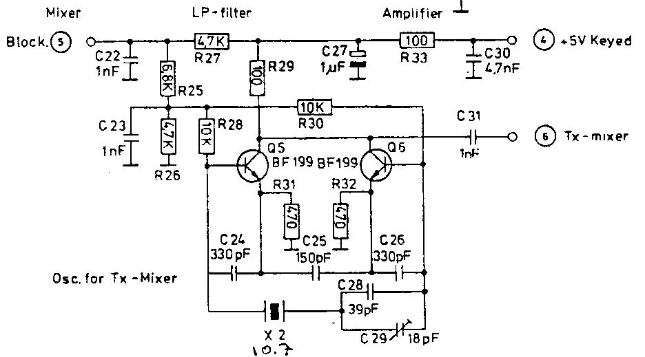 Трансивер кв схема