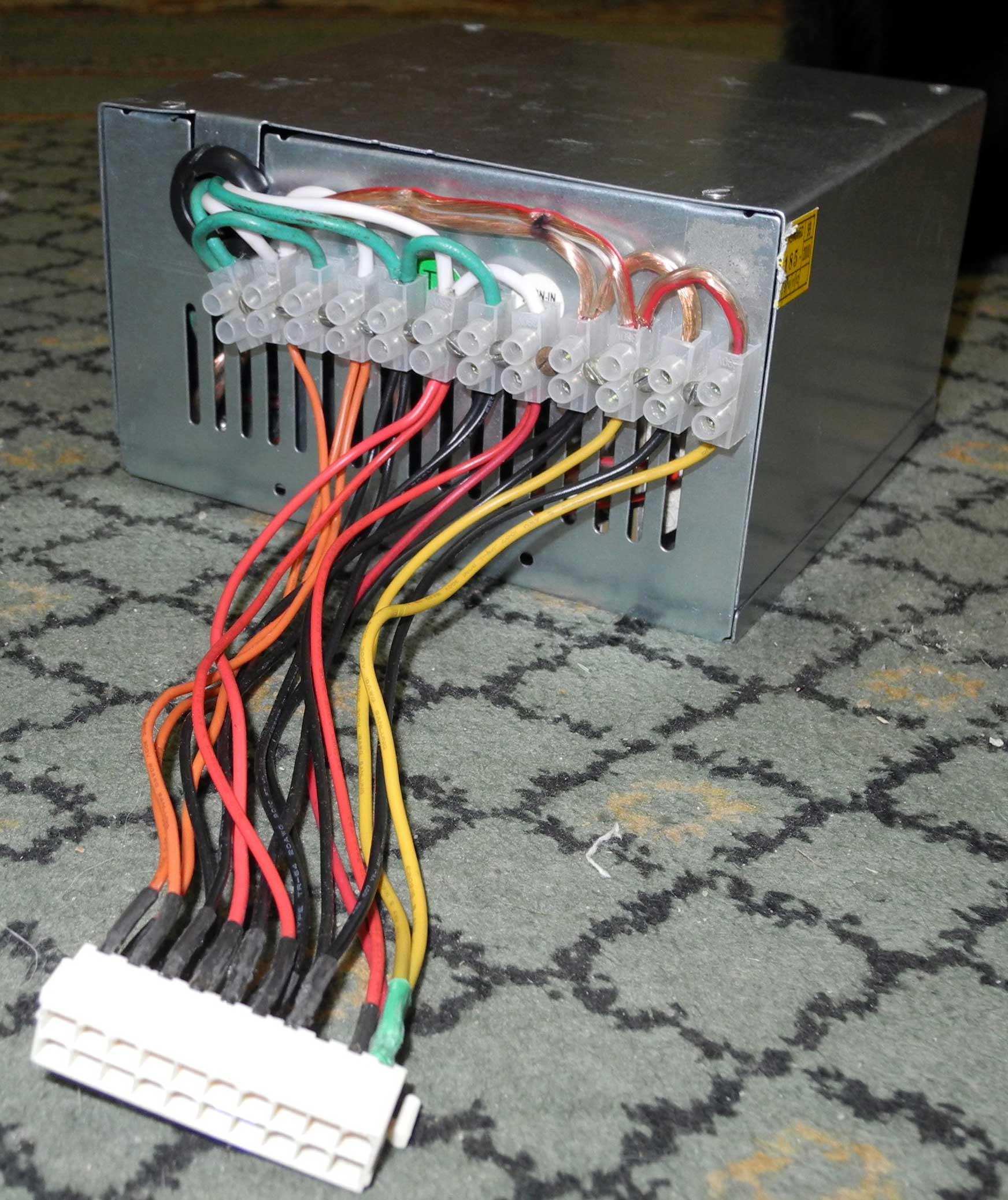 Нагрузка блока питания компьютера 3