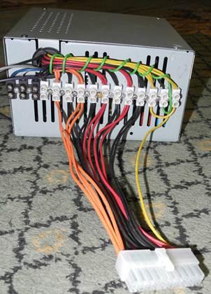 Нагрузка блока питания компьютера 2