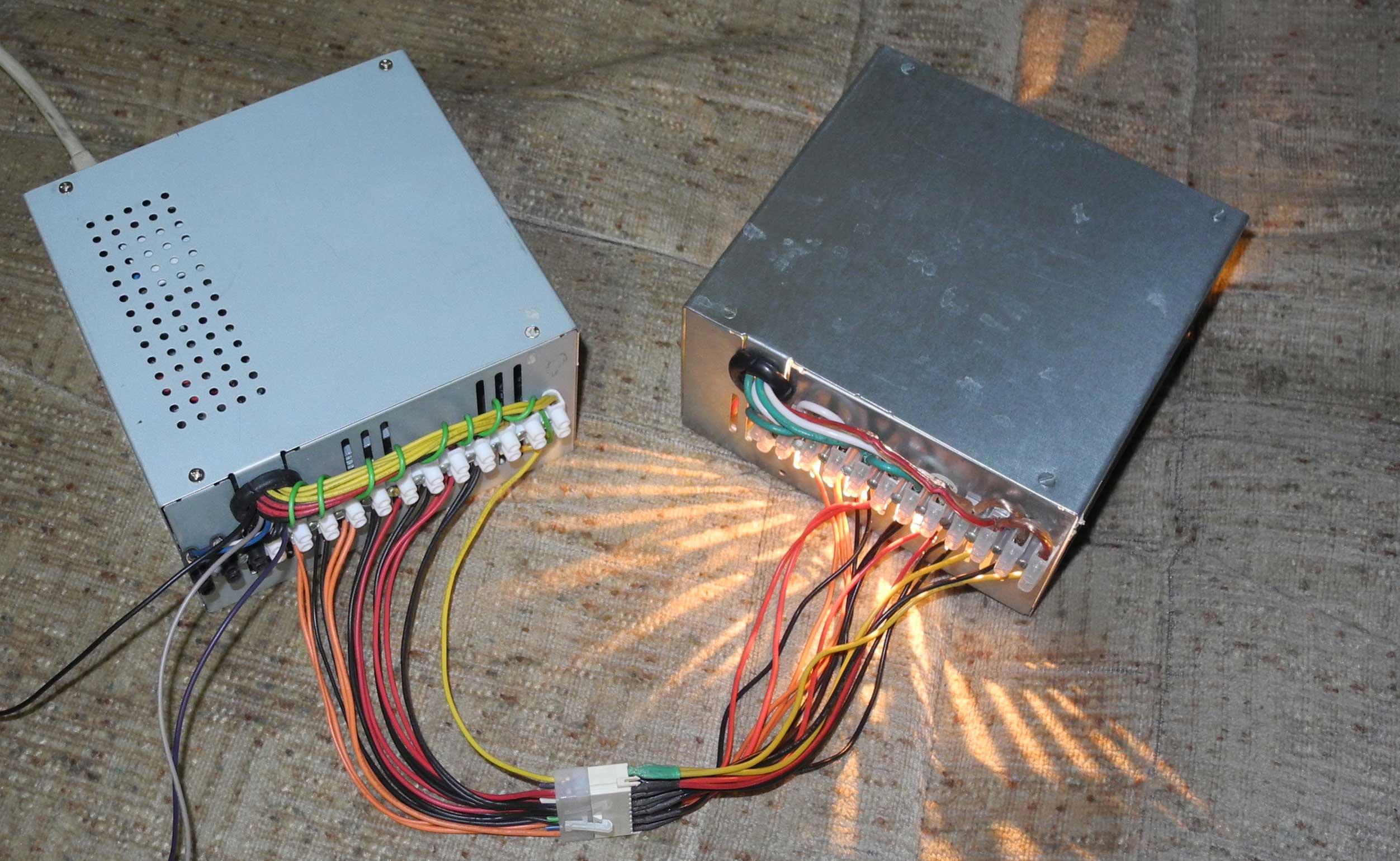 Нагрузка блока питания компьютера 1