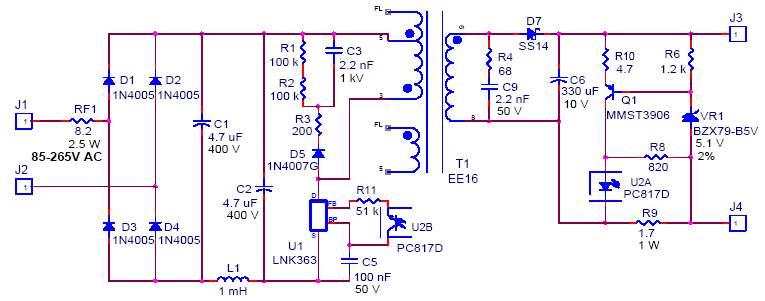 схема зарядного устройства для телефона | wphhxxav ...
