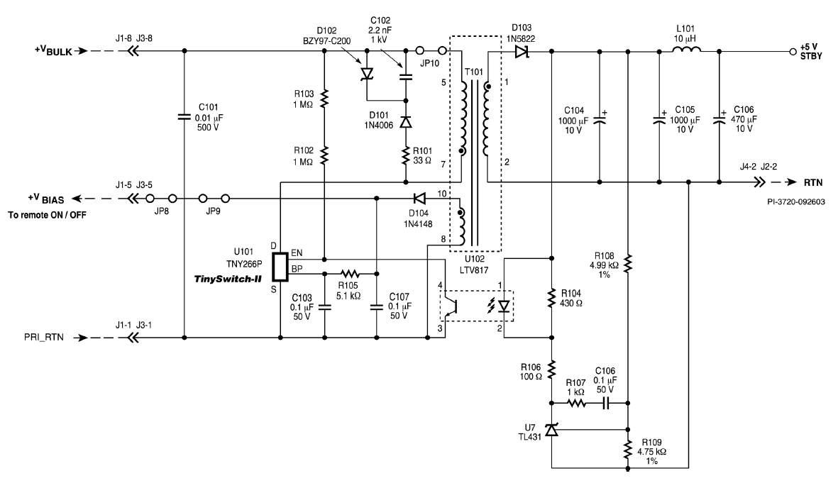 Tny267pn схема включения