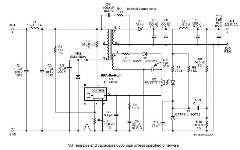 dc dc преобразователи схема - Практическая схемотехника.