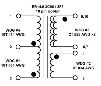 DC-DC преобразователь на микросхеме DPA.