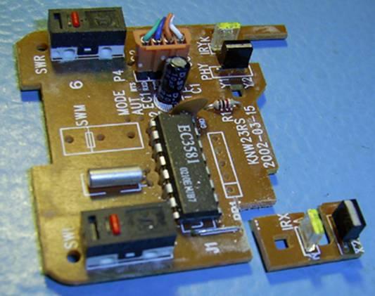 Валкодер из компьютерной мышки
