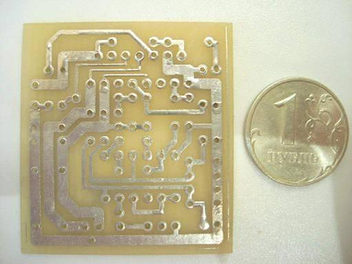 Изготовление печатных плат на кухне - ЛУТ - Лазерно-Утюжная Технология.