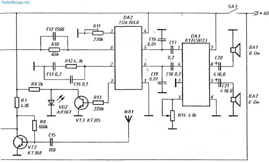Доработка усилителя Technics SE-A800S
