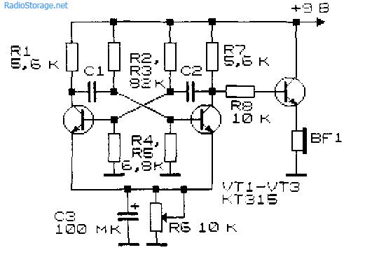 схемы генераторов импульсов на инверторах