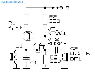 Простой металлоискатель на одном транзисторе своими руками