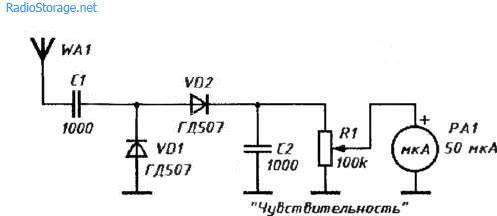 Детектор радиоизлучения своими руками 49
