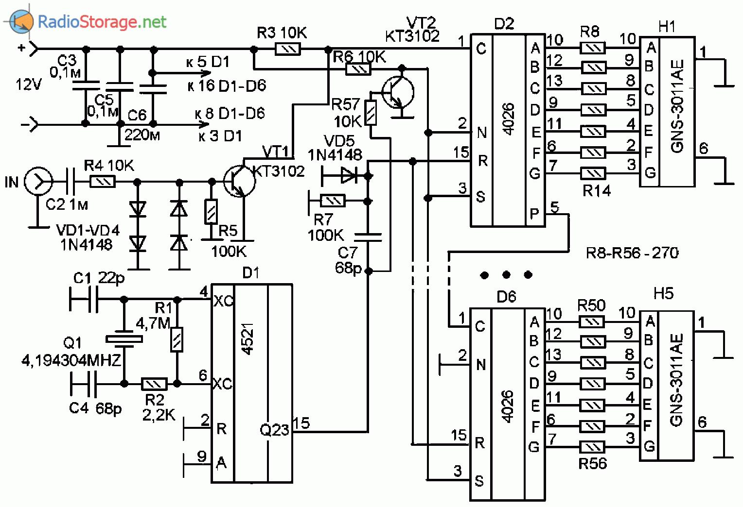 Осциллограф из монитора схема 2