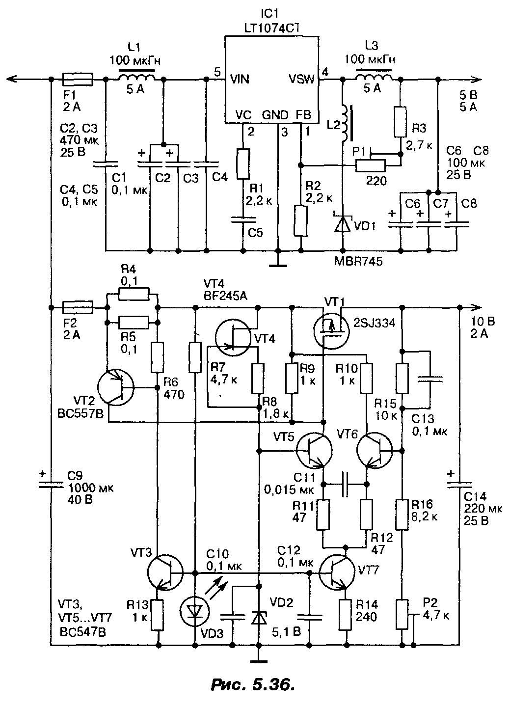 Как запитать светодиод от сети 220 В
