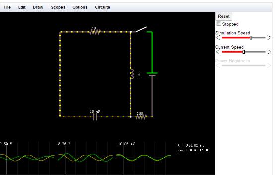 симулятор электрических схем