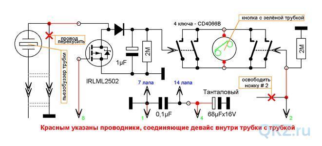 Сотовый телефонный мост GSM-ГАТС-micro