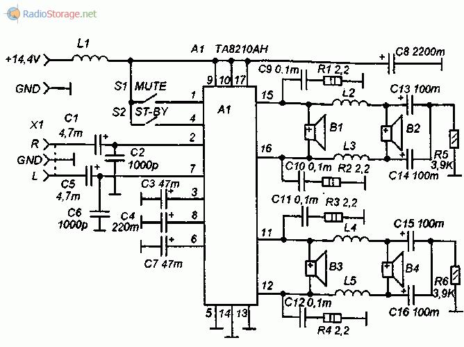 схема автомобильных звуковых сигналов